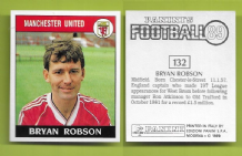 Manchester United Bryan Robson England 132